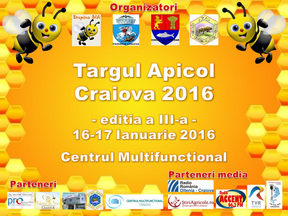 Targul apicol Craiova 2016