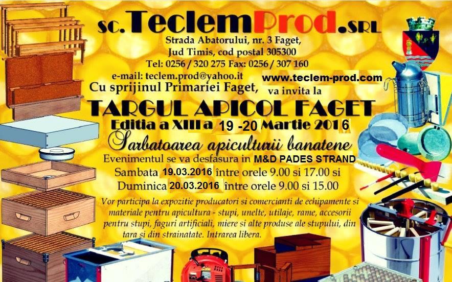 Targul Apicol Faget 2016