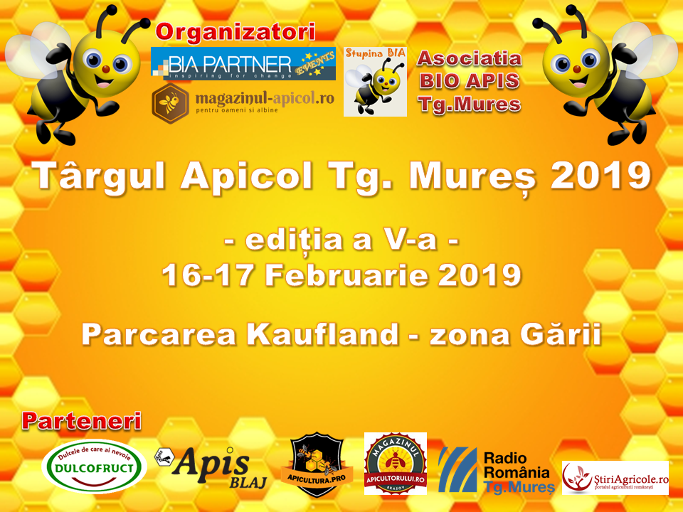 Targului Apicol Targu Mures 2019